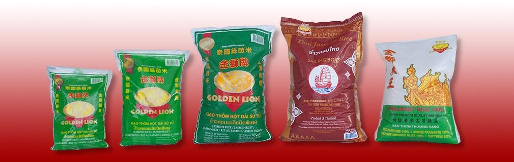 Golden Lion rice